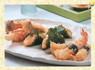 ロール天ぷら3種