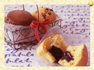 チョコレートマフィン3種(とろりんチョコマフィン・ブラックチョコマフィン・チョコチップマフィン)