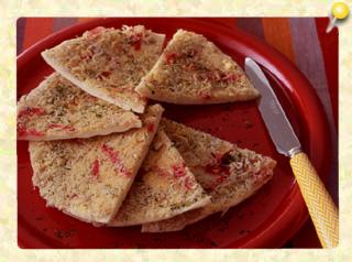 チーズとじゃこのスナックピザ
