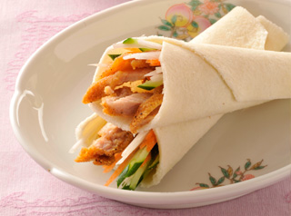 中華風クレープ(春餅)