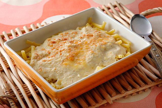 豆腐ホワイトソース(マカロニグラタン)
