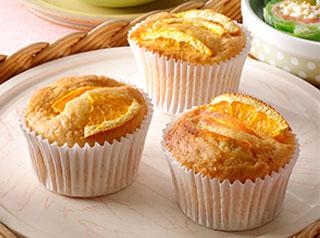 オレンジ香るにんじんカップケーキ