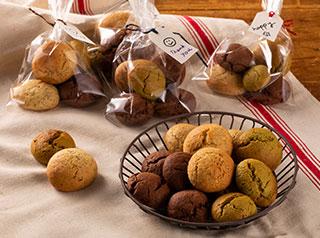 ドーム型クッキー