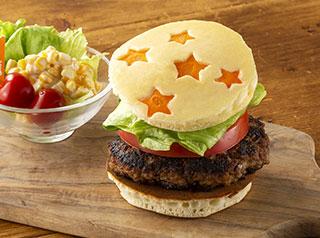 星のハンバーガー