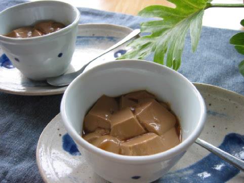 コーヒーミルク寒天