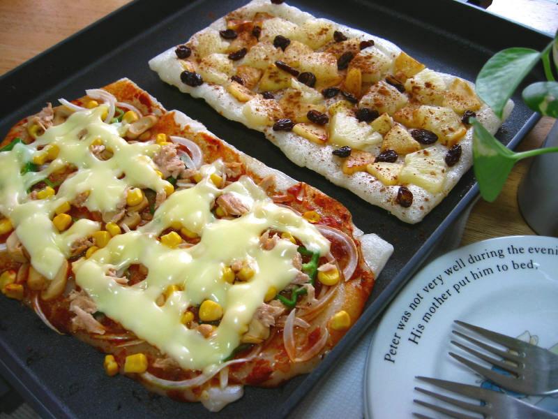 もっちもちピザ