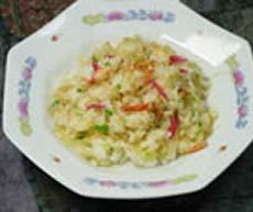 中華風蟹の混ぜご飯