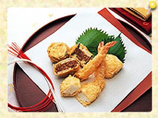 まごころ込めてお祝い天ぷら
