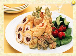 そのまま食べちゃお!天ぷらオードブル