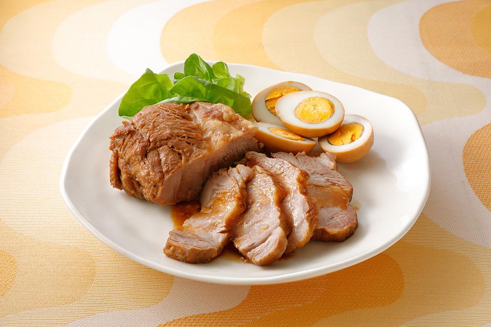 焼肉のタレで煮豚